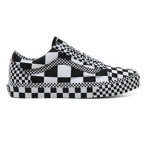 Vans Old Skool All Over Checkerboard Sneakers